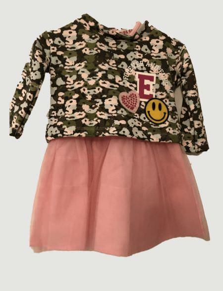 BABY DRESS EBITA 175564 PINK