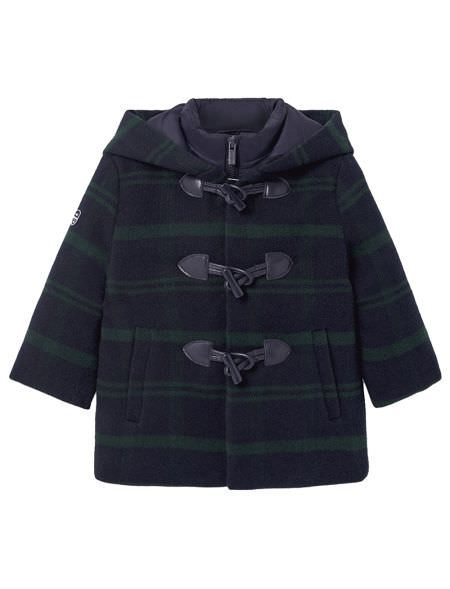 DOODED DUFFEL COAT BABY...