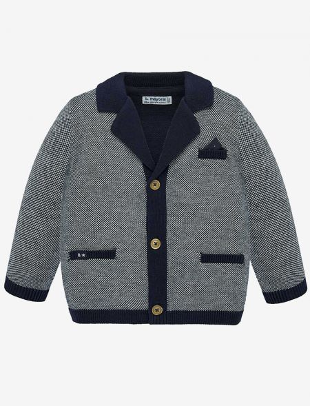 KNITTED JACKET NEWBORN...