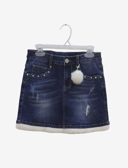 JEAN SKIRT EBITA 199069 BLUE