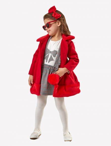 COAT GIRL EBITA 199268 RED