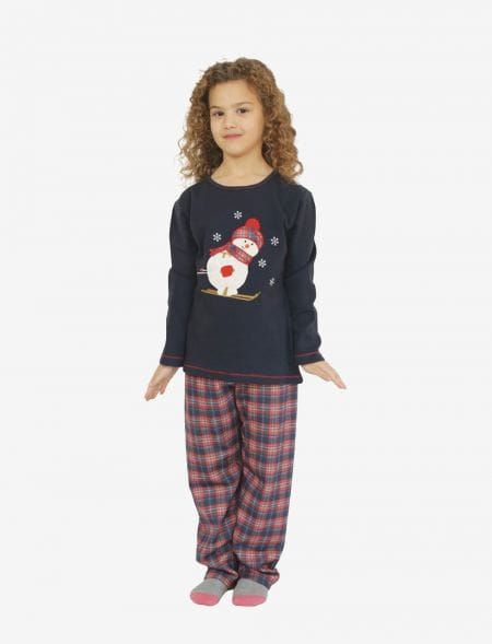 PIJAMAS SNOWMAN GIRL GALAXY...