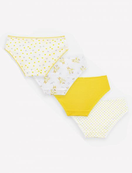 PRINTED BLOOMERS 4PCS MAYORAL