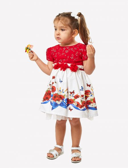 BABY GIRL DRESS WITH...