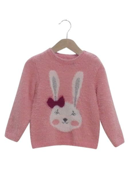 KNITED PULLOVER PINK ΕΒΙΤΑ...