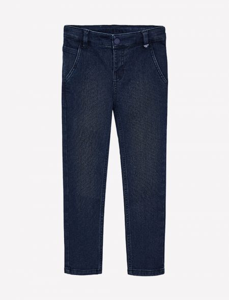 Slim fit pique jeans for...