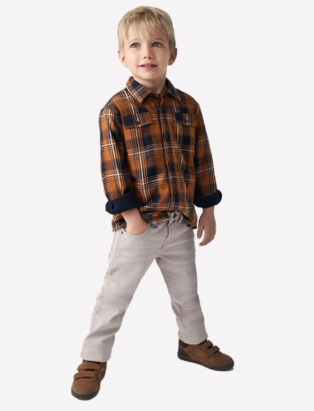 Slim fit trousers for boy...