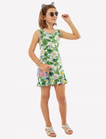 DRESS FLORAL WITH...