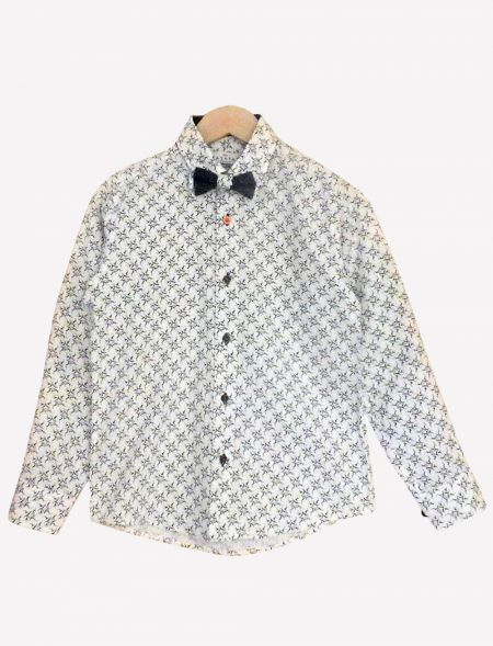 SHIRT WITH BOW TIE FOR BOYS...