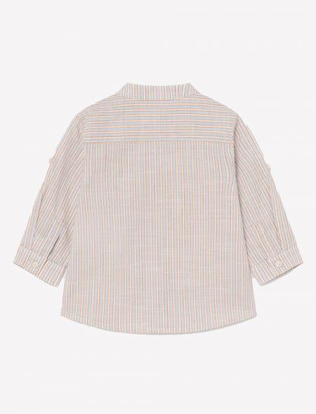 Linen granded shirt for...