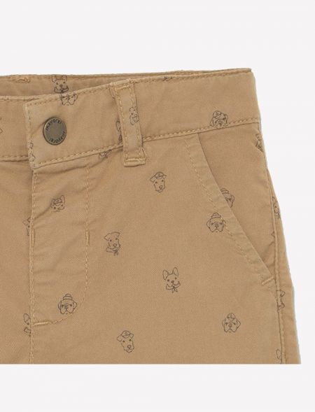 Micro print shorts for baby...