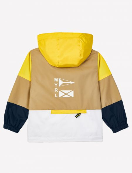 Combined windbreaker for...
