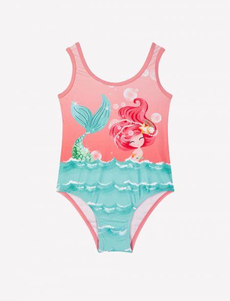 Print swimsuit for girl...
