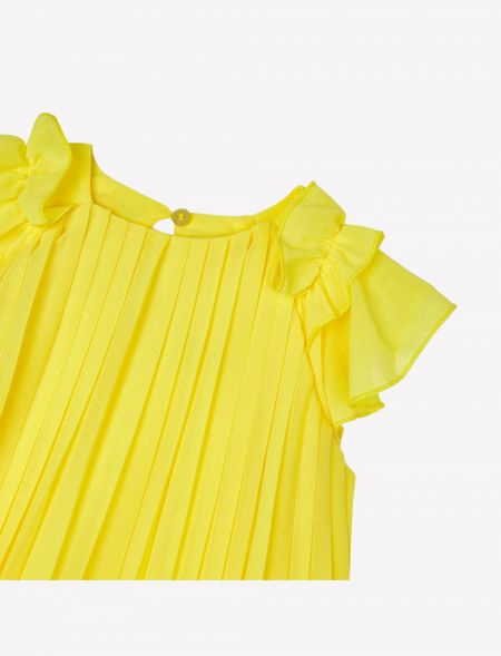 Pleated dress for girl MAYORAL