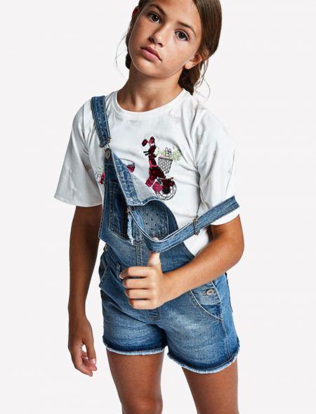 Sequin t-shirt for older...