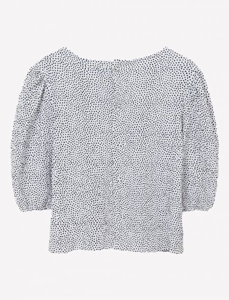 Taupe blouse girl MAYORAL