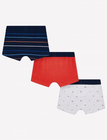 Set of 3 print boxers for...