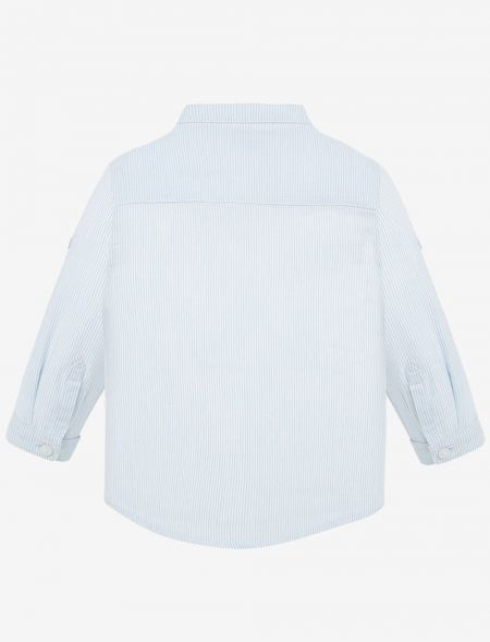 LONSLEEVED SHIRT WITH MAO...
