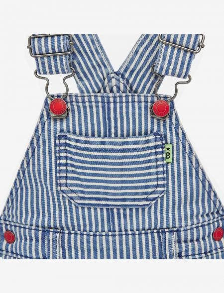 BABY STRIPPED OVERALLS MAYORAL