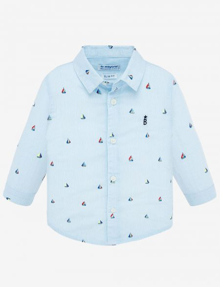 BABY SPRING SHIRT WITH...