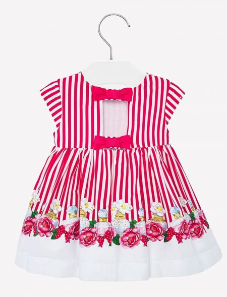 BABY STRIPPED DRESS WITH...