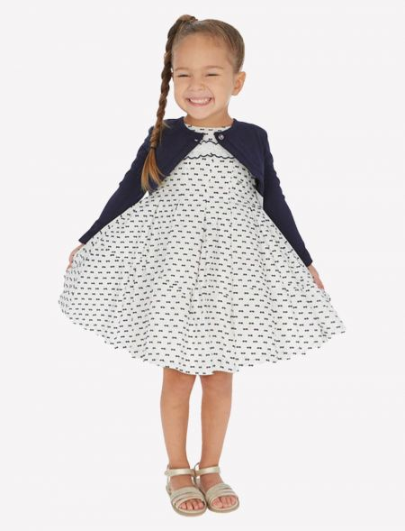 DRESS WITH MICROPRINTS MAYORAL