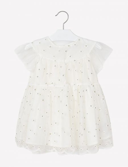 DRESS WITH RUFFLES MAYORAL