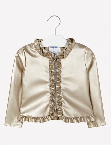 SPRING JACKET WITH RUFFLES...