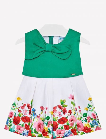 BABY DRESS WITH FLOWERS...