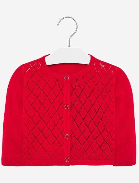 BABY KNITTED PERFORATED...