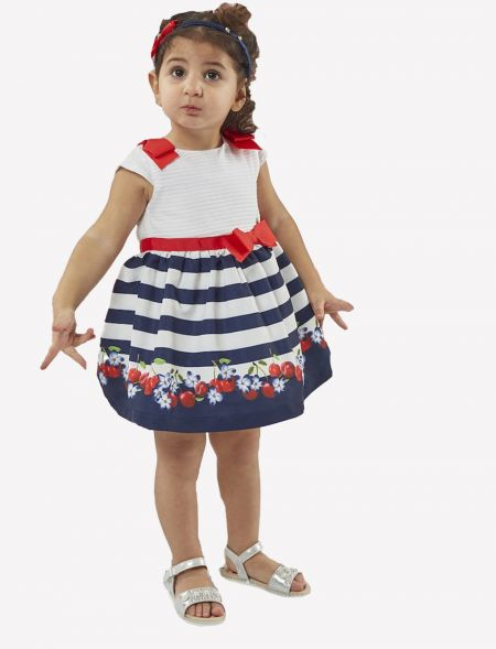 BABY DRESS WITH STRIPES EBITA