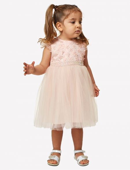 BABY DRESS WITH TULLE EBITA