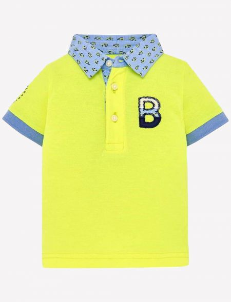 BABY POLO TSHIRT BOY MAYORAL