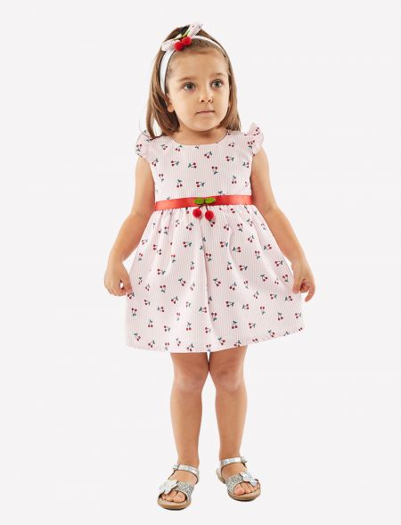 BABY DRESS WITH HAIRBAND