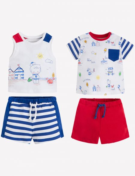 BABY SET 4PCS MAYORAL