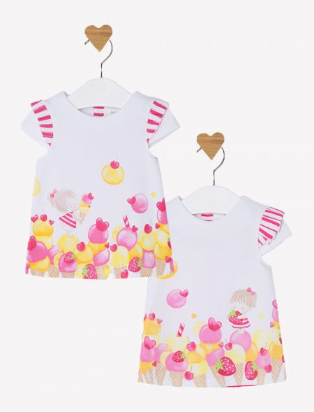 BABY DRESS PRINTED (1PIECE)...
