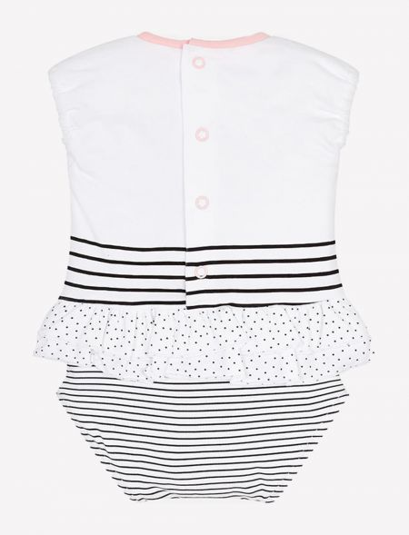 BABY ONESIE SKIRT WITH...