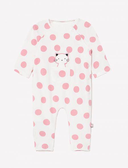 Spotty knit pyjama for...