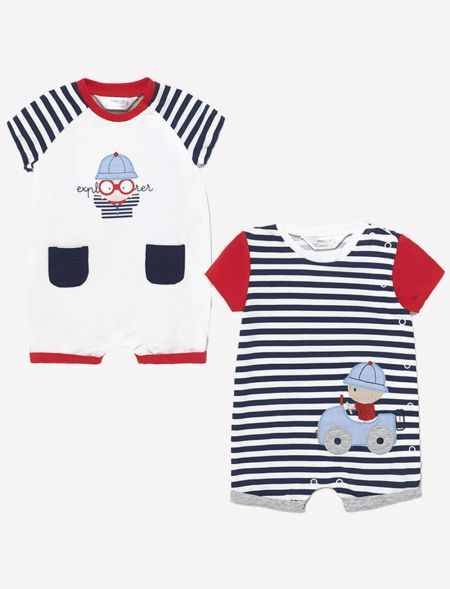 Set of two knitted onesies...