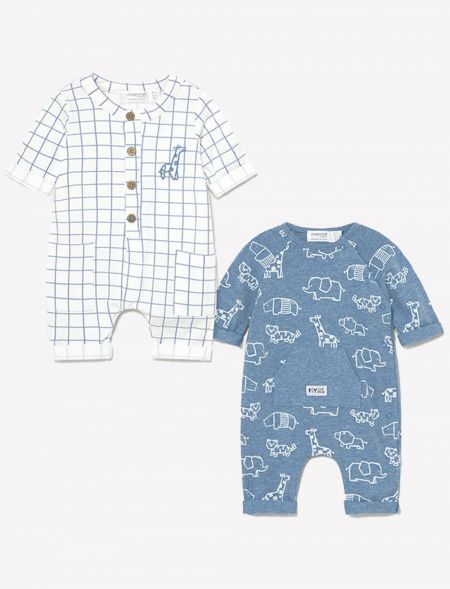 Set of two onesies without...