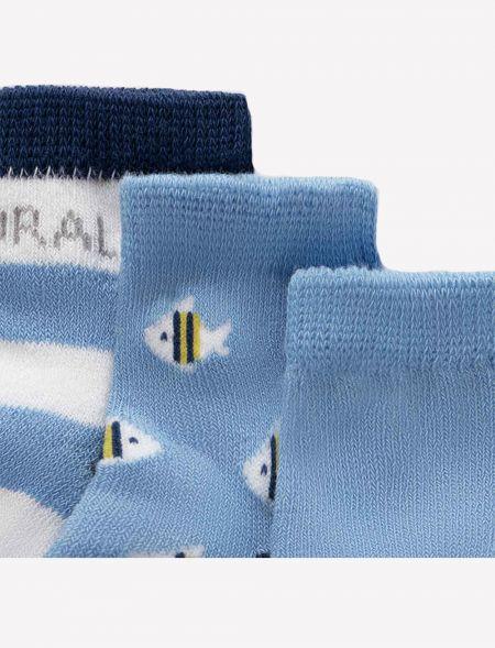 Set of 6 newborn socks boy...