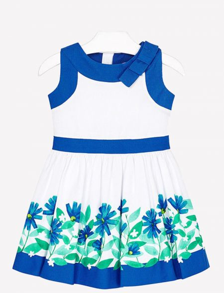 DRESS WITH FLOWERS MAYORAL