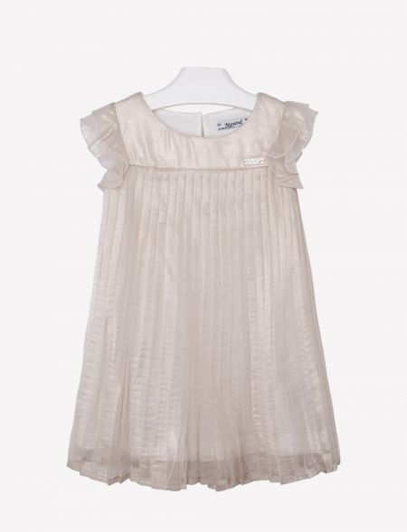 PLEATED DRESS GIRL MAYORAL