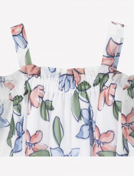 DRESS FLOWERS WITH RUFFLES...
