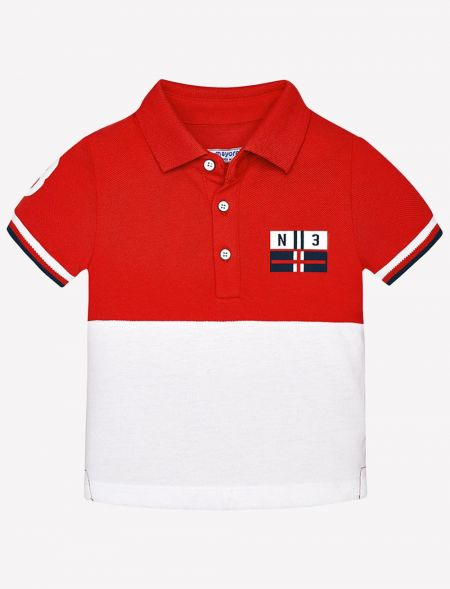 BABY POLO TSHIRT IN...