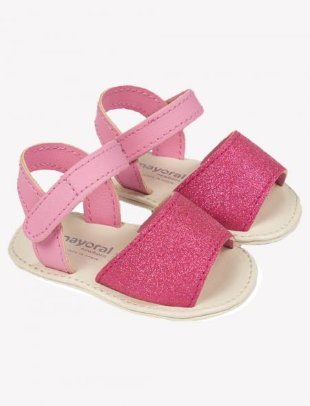 BABY GLITTER SANDALS MAYORAL