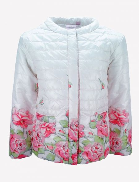 SPRING JACKET WITH FLOWERS...