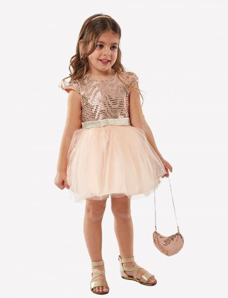 FORMAL DRESS WITH TULLE AND...