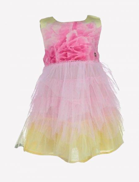 DRESS WITH TULLE GIRL EBITA