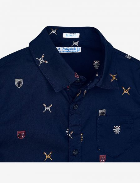 SHIRT WITH MICROSTAMPS MAYORAL